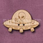 700 Alien Spaceship 34mm x 23mm