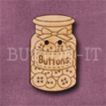 708 Jar of Buttons 18mm x 29mm