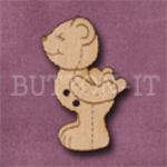 731 Kissing Teddy Bear 21mm x 33mm