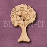 745 Hearts Tree 23mm x 33mm