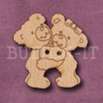 791 Hugging Teddy Bear 30mm x 30mm