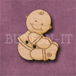 796 Baby Boy Touching Toes 22mm x 27mm
