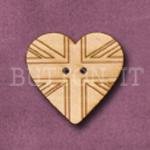 817 Union Jack Heart 27mm x 25