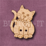 826 Cat with Fish 23mm x 30mm