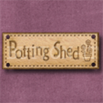 847 Potting Shed Sign 42mm x 16mm
