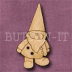 849 Garden Gnome 19mm x 36mm