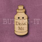 926 Drink Me Bottle 13mm x 30mm