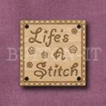 934 Life's a Stitch 25mm x 25mm