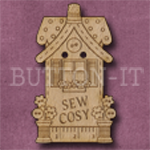 938 Sew Cosy House 23mm x 38mm