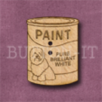 965 Tin of Paint 20mm x 27mm