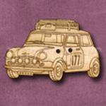 987 Mini Rally 39mm x 25mm