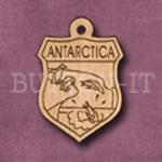 Antarctica Charm 22mm x 31mm