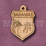 Bahamas Charm 22mm x 31mm