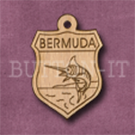Bermuda Charm 22mm x 31mm