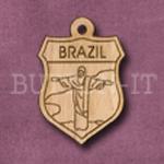 Brazil Charm 22mm x 31mm