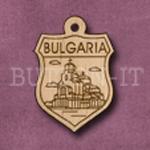 Bulgaria Charm 22mm x 31mm