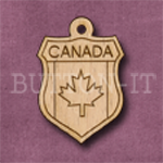 Canada Charm 22mm x 31mm