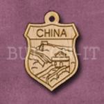China Charm 22mm x 31mm