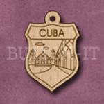 Cuba Charm 22mm x 31mm