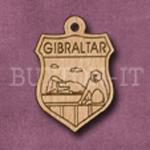 Gibraltar Charm 22mm x 31mm