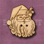 X003 Santa Button 26mm x 30mm