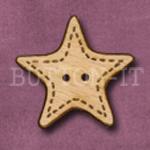 X028 Star Button 32mm x 30mm