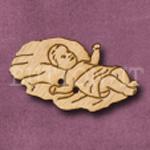 X033 Baby Jesus Button 39mm x 23mm