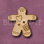 X052 Gingerbread Man 26mm x 27mm