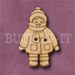 X121 Winter Boy Button 22mm x 32mm