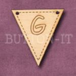 AB-G Alphabet Bunting 28mm x 30mm