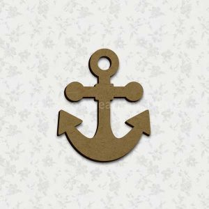 Anchor Laser Cut Shape