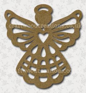 Filigree Ccraftwood Angel Shape
