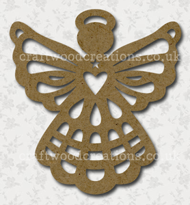 Filigree Ccraftwood Angel Shape