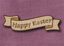 B-HE Happy Easter 50mm x 14mm