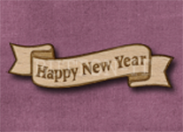 B-HNY Happy New Year 50mm x 14mm