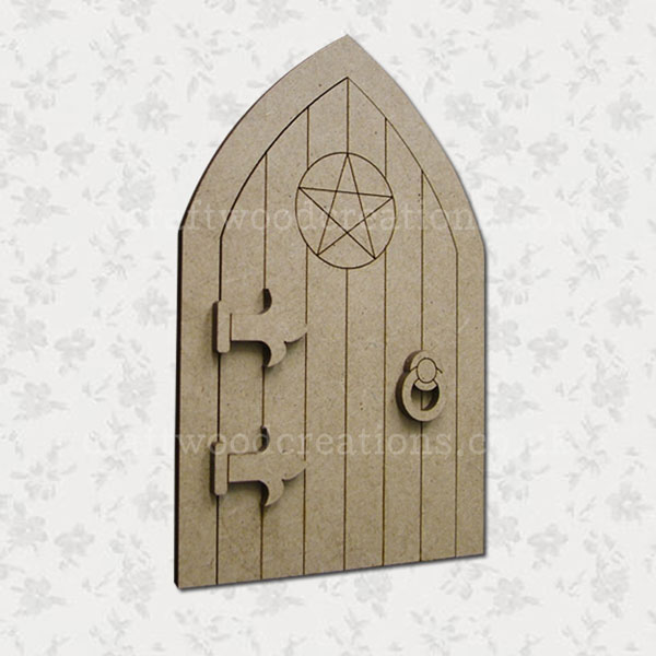 Bewitched Mdf Fairy Door