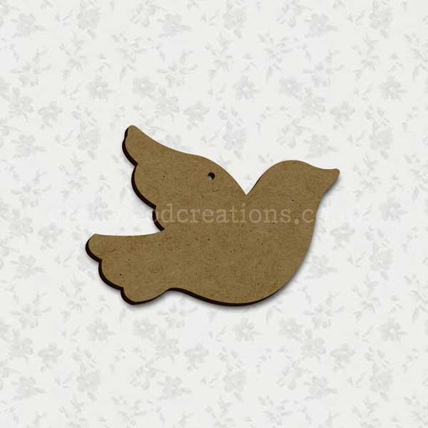 Bird Laser Cut Shape