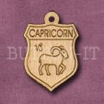 Capricorn Charm 22mm x 31mm