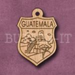 Guatemala Charm 22mm x 31mm