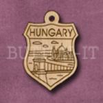 Hungary Charm 22mm x 31mm