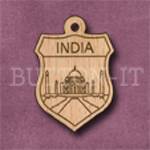 India Charm 22mm x 31mm