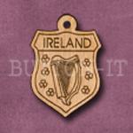 Ireland Charm 22mm x 31mm