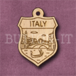 Italy Charm 22mm x 31mm