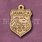 Jamaica Charm 22mm x 31mm