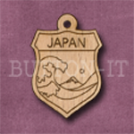 Japan Charm 22mm x 31mm