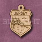 Jersey Charm 22mm x 31mm