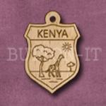 Kenya Charm 22mm x 31mm