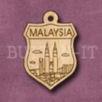 Malaysia Charm 22mm x 31mm