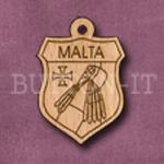 Malta Charm 22mm x 31mm