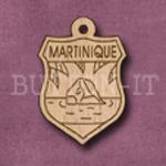 Martinique Charm 22mm x 31mm